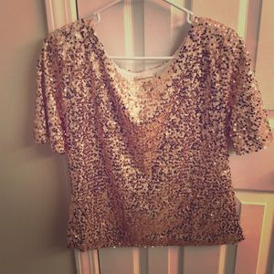 A beautiful sequin blouse